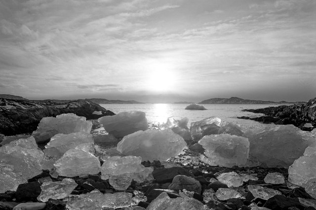 Nuuk, Greenland, 23rd November 2020, by Nattaphon Kakatoom