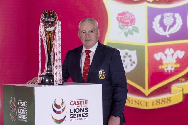 British and Irish Lions head coach Warren Gatland. Picture: Dan Sheridan/Pool/Getty Images