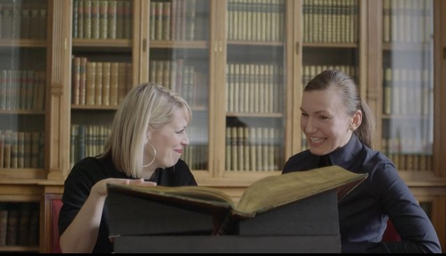 Actress and theatre-maker Cora Bissett and language expert Dr Joanna Kopaczyk pore over the earliest written records of swearing in Scotland.
