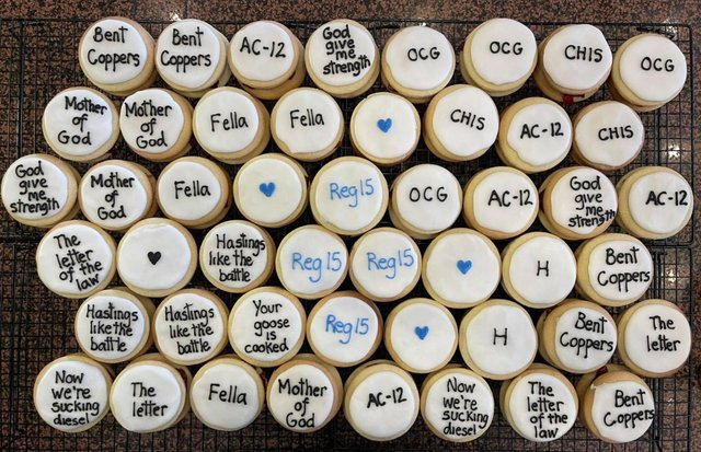 Line of Duty cookies available from the Brooklyn Cafe in Shawlands (Photo: Brooklyn Cafe).