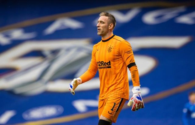 Rangers goalkeeper Allan McGregor has enjoyed an outstanding season for the Ibrox club and has signed a new one-year contract. (Photo by Craig Williamson / SNS Group)