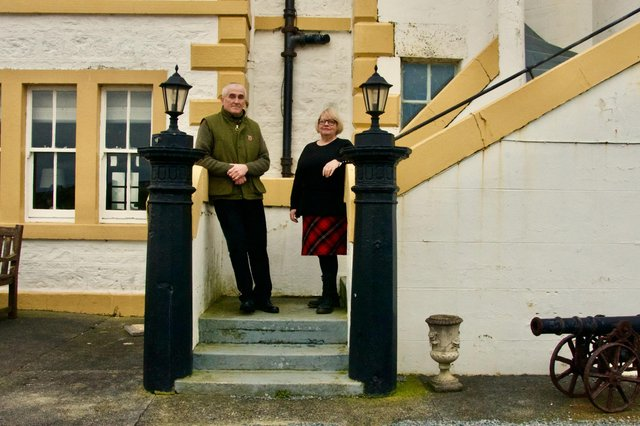 John Harris, 62, and Helen Mason, 60, upped sticks from Norfolk to realise their dream.