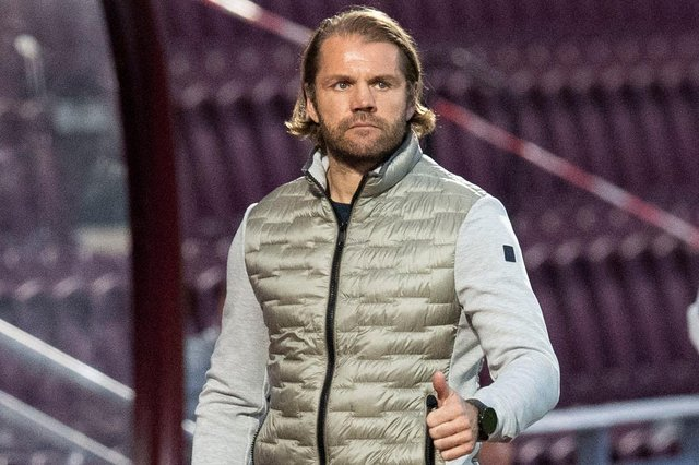 Robbie Neilson was pleased with Hearts against Cove Rangers.