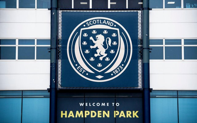 The Scottish FA responded to comments made by Rangers chief Stewart Robertson. Picture: SNS