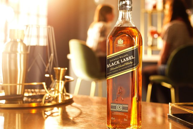 Diageo has a vast portfolio that includes Johnnie Walker whisky, above, Guinness stout and Smirnoff vodka.