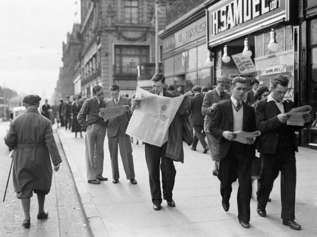 Interwar era Edinburgh 1930s