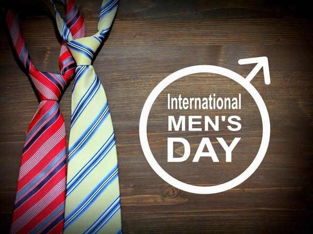 International Men's Day is on November 19th