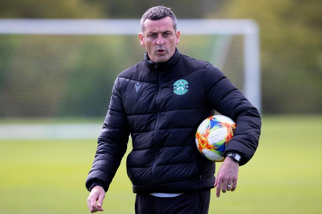 Hibs manager Jack Ross has delivered on several of the targets his bosses set for him when he first joined the club. Photo by Alan Harvey / SNS Group