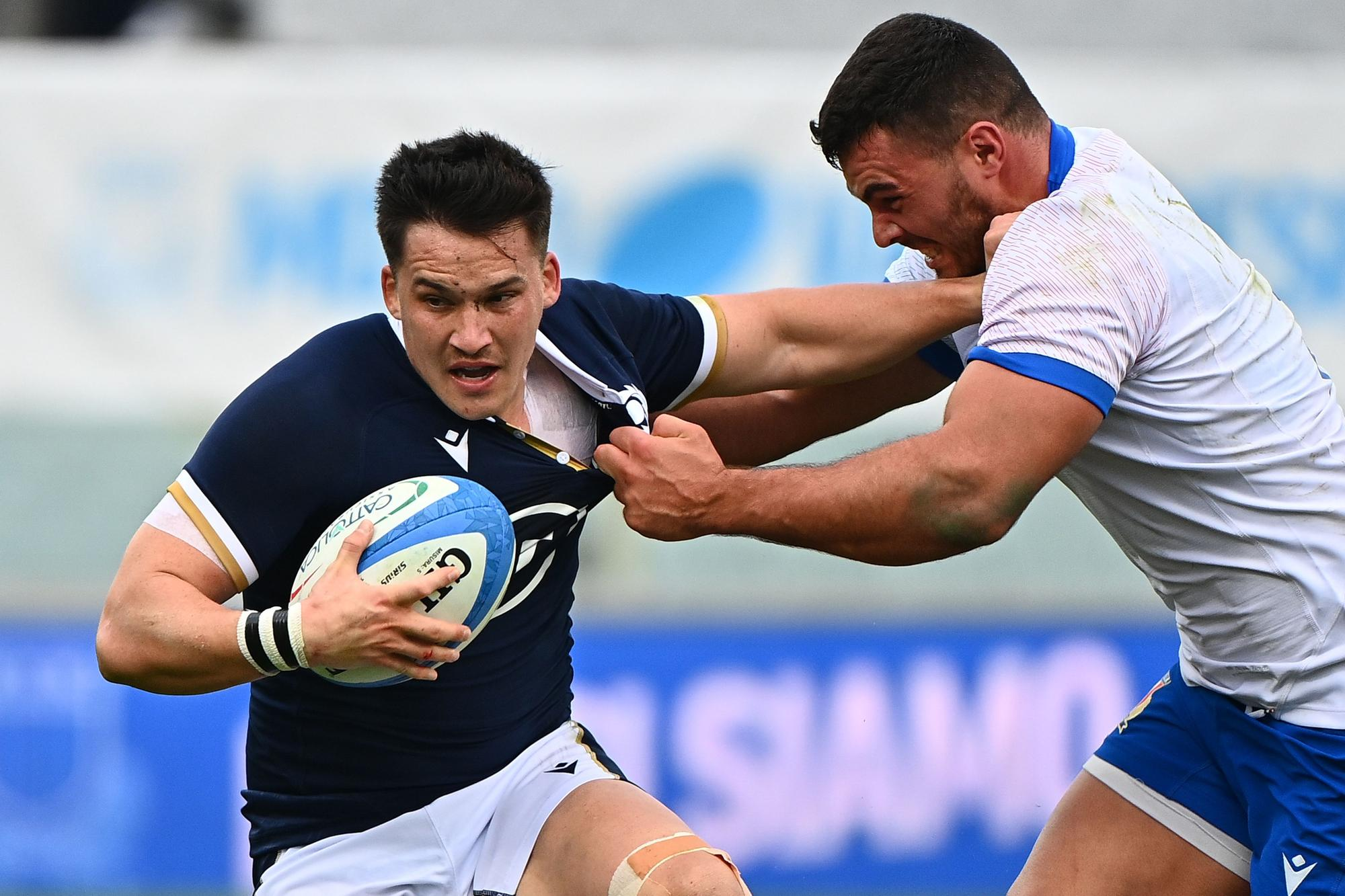 Sam Johnson on his Scotland return, the need for improvement and his first  taste of playing with Duhan van der Merwe | The Scotsman