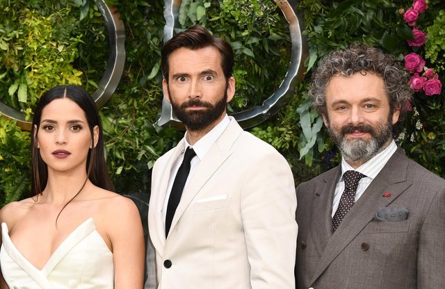 Amazon Original drama Good Omens stars the likes of Adria Arjona, David Tennant and Michael Sheen (Picture: Jeff Spicer/Getty Images)