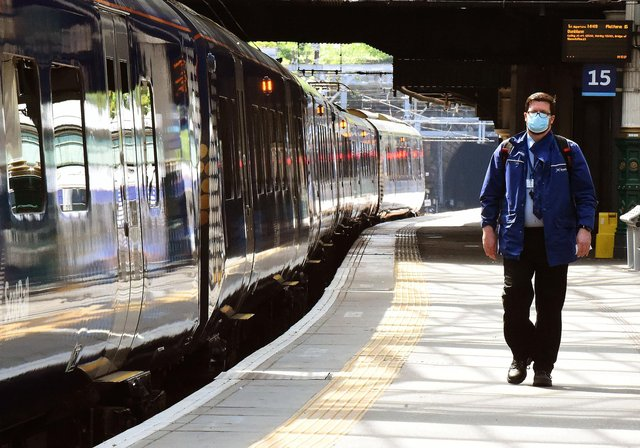 ScotRail conductors are angry at receiving no pay rise this year when drivers have benefited from a two-year deal agreed in 2019. Picture: Lisa Ferguson
