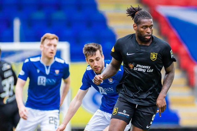 Livingston's Jay Emmanuel-Thomas is expected to leave the club.