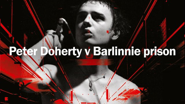 Peter Doherty is teaming up with Barlinnie prisoners for a new exhibition. Photo: Peter Doherty V Barlinnie