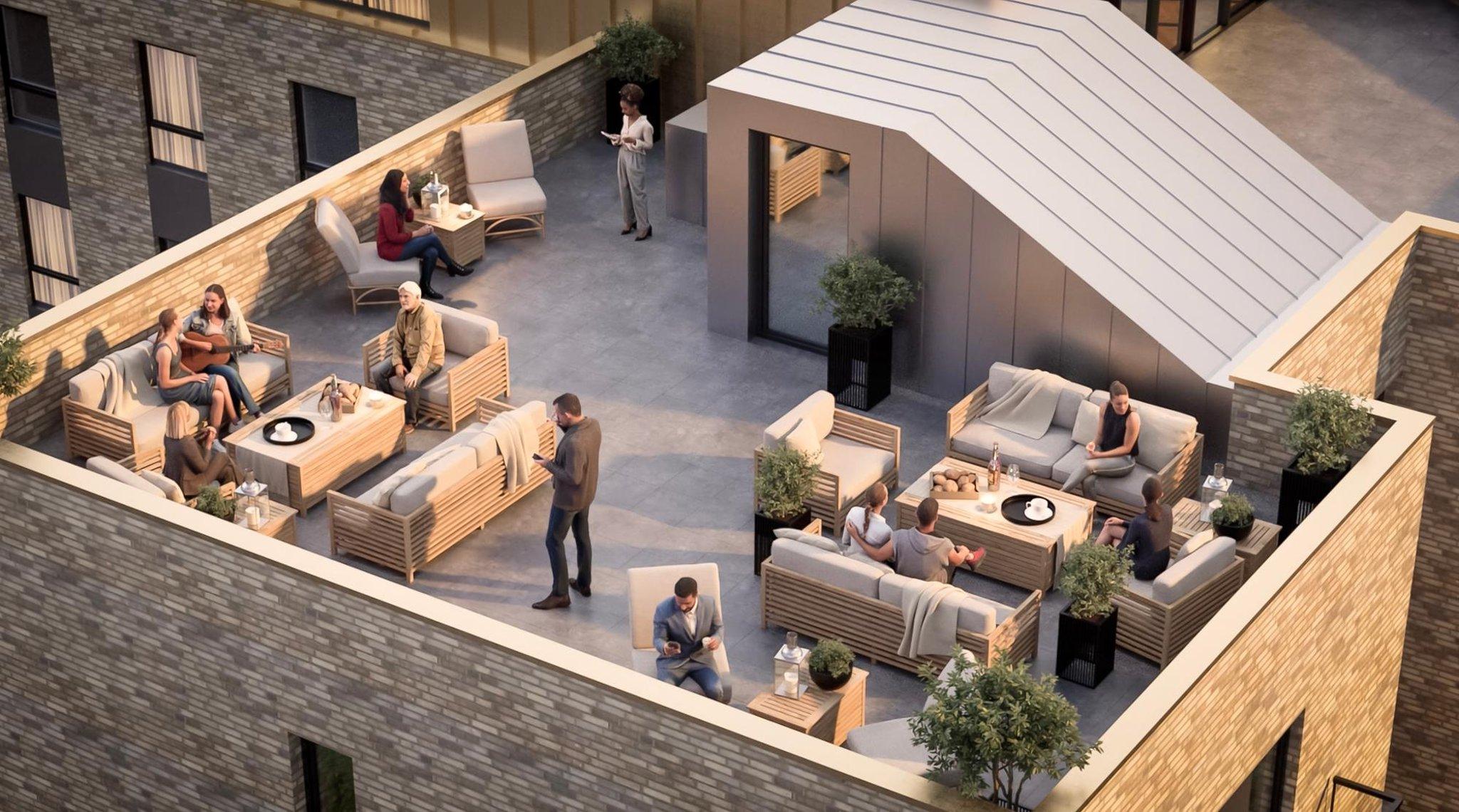 Pengembangan Waverley Park: Lihat ke dalam pengembangan Shawlands senilai £10 juta termasuk taman atap