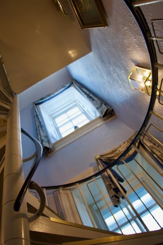 Being in a lighthouse, gives a unique feel to the hotel.