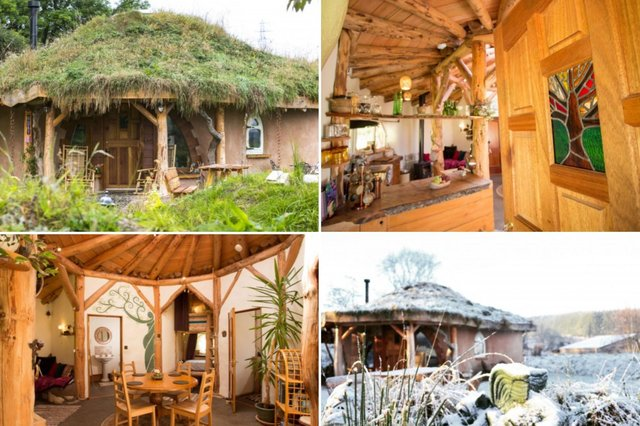 This Hobbit Hideaway in Moray is perfect for any Lord of the Rings fan.