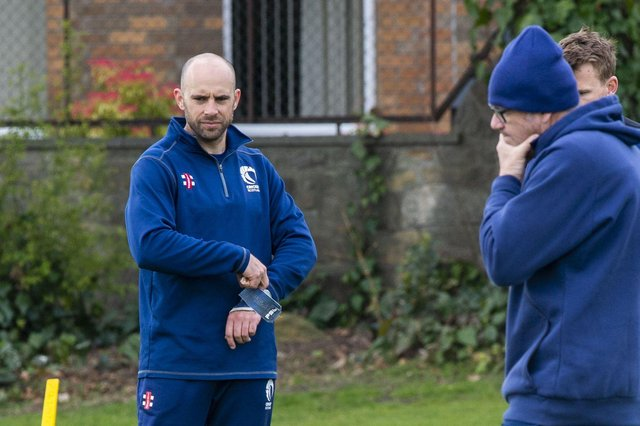 Scotland captain Kyle Coetzer will lead the side in two one-day internationals against the Netherlands in Rotterdam. Picture: Lisa Ferguson