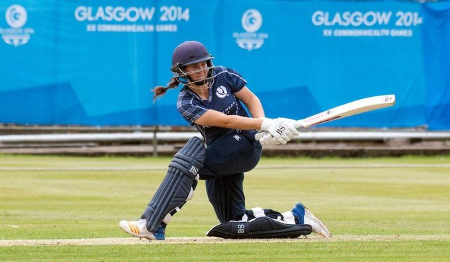 Kathryn Bryce has achieved a first for Scottish cricket. Picture: Donald MacLeod