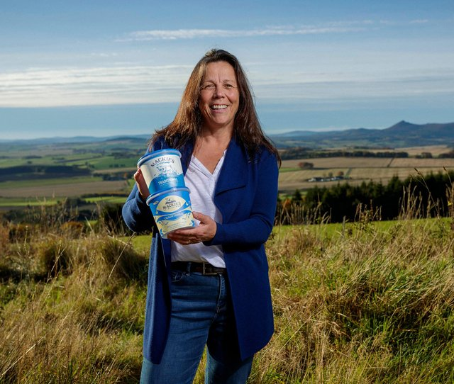 Karin Hayhow, marketing director and one of three sibling owners. Picture: Ross Johnston/Newsline Media.