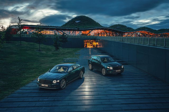 The new global partnership was unveiled at The Macallan Estate on Speyside, alongside the launch of a new hybrid Bentley car. Picture: Richard Pardon