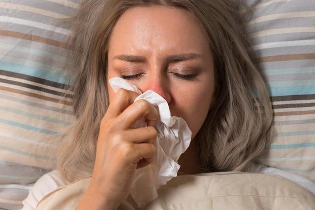 Loss of taste and smell may be a symptom of coronavirus.