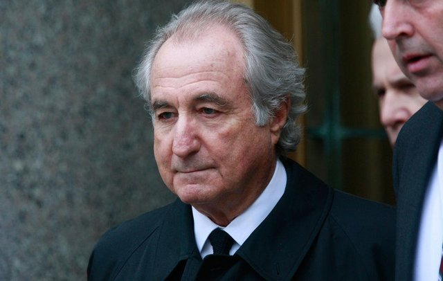 Bernie Madoff the runner of the world's largest Ponzi scheme has died at the age of 82 (Getty Images)