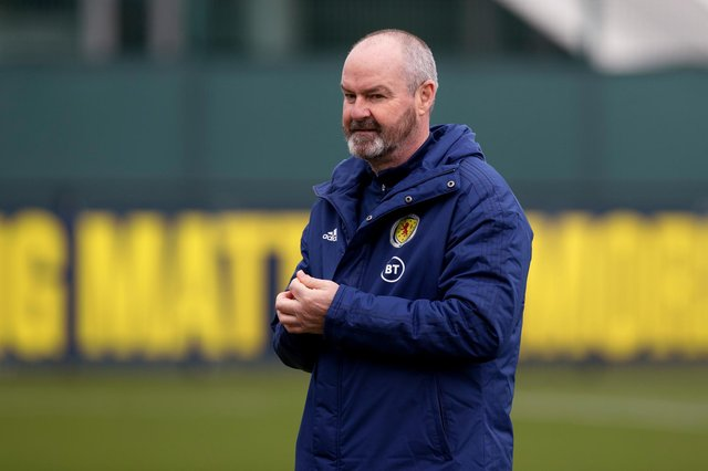 Scotland coach Steve Clark has named his 26-man squad for the European Championships (Photo by Craig Williamson / SNS Group)