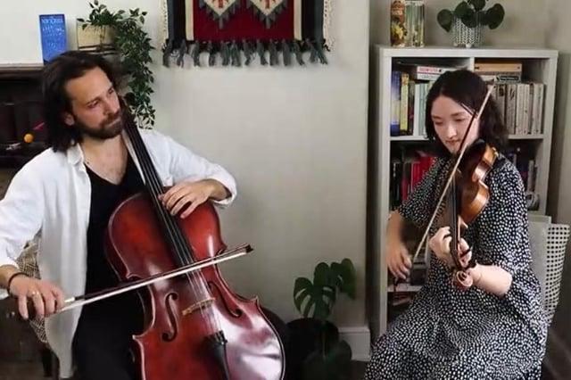 Abigail Young and Balázs Renczes
