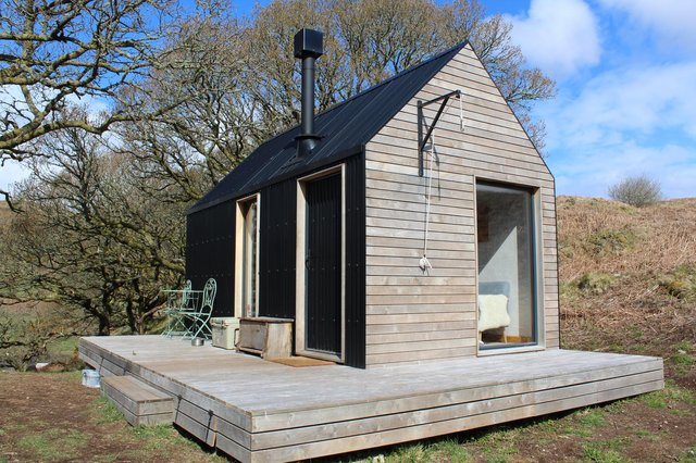 One of the two bothies in the grounds of the Inverlonan (which comprises three farms within the Glen Lonan valley) near Oban.