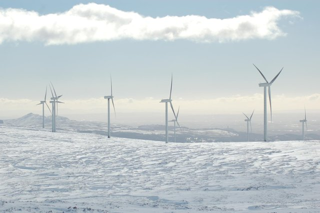 Braes of Doune is located in Stirlingshire and comprises 36 turbines, with a total capacity of 72 megawatts.
