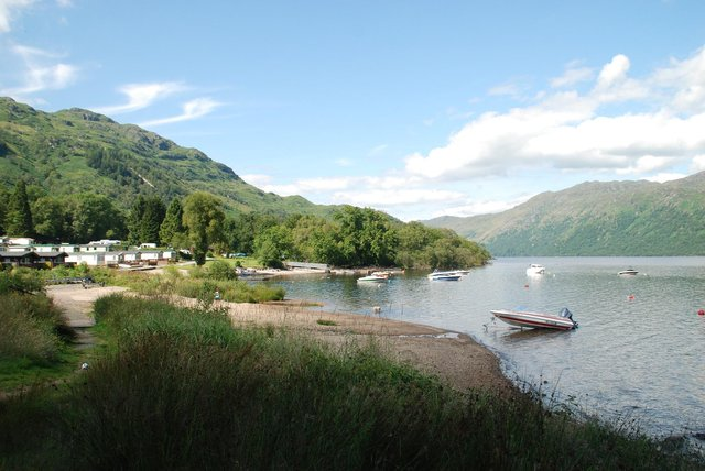 Argyll Holiday Parks' site at Loch Lomond gives guests the opportunity to explore the loch and Arrochar Alps.