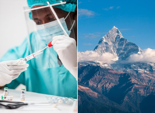 """The World Health Organisation says it is """"not aware"""" of any new Nepal Variant of Covid-19."""