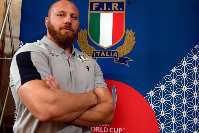 Italy hooker Leonardo Ghiraldini is picked as a substitute against Scotland.