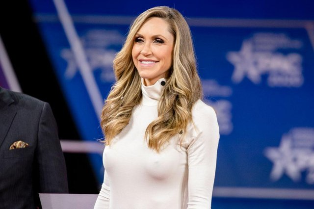 Lara Trump at the Conservative Political Action Conference in February 2020 (Photo: Samuel Corum/Getty Images)