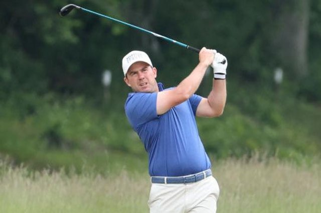 Richie Ramsay was delighted with his day's work in the third round of the abrdn Scottish Open at The Renaissance Club. Picture: Warren Little/Getty Images.