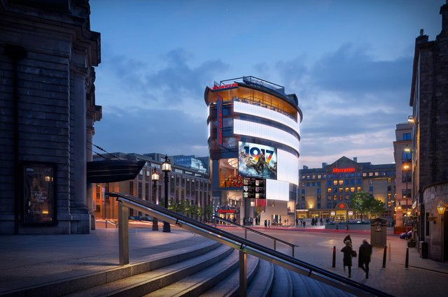 The new £50 Filmhouse would be built on Festival Square, between the Usher Hall and the Sheraton Grand Hotel, if it approved by councillors.