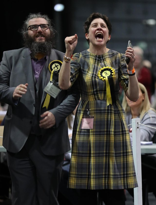 MP Alison Thewliss is shadow chancellor for the SNP