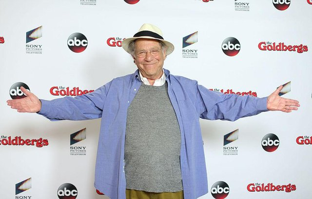 George Segal acted 'Pops' in ABC's 'The Goldbergs', having previously starred alongside Barbra Streisand, Elizabeth Taylor and Glenda Jackson in many critically-acclaimed movies (Picture: Mark Davis/Getty Images)