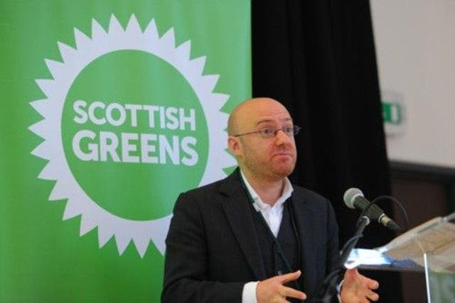 Lorna Slater and Patrick Harvie's party have criticised the Independent Green Voice party over their choice of branding.