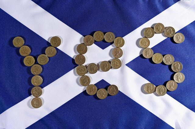 Difficult questions about the currency of an independent Scotland remain. Picture: Jeff J Mitchell/Getty