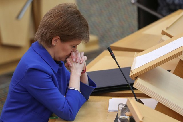 Nicola Sturgeon claimed she 'welcomed' additional transparency around Covid-19.