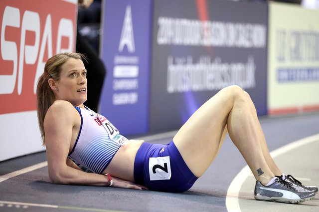 Eilidh Doyle has suffered an injury blow ahead of the Olympic Games in Tokyo. Picture: Jane Barlow/PA