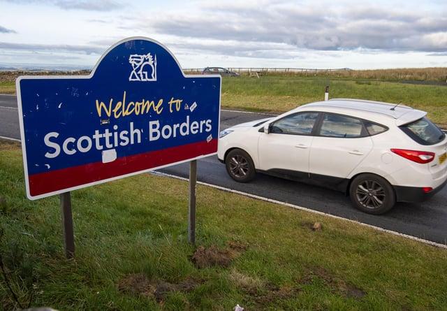 John Swinney refused to rule out shutting the Scotland/England border.