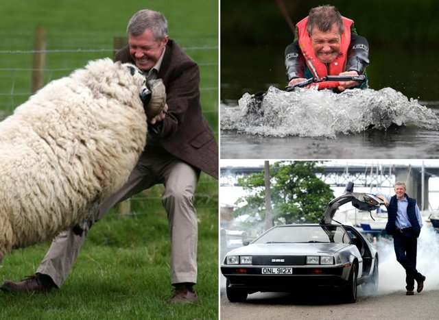 Here are our favourite of Willie Rennie's photo ops.