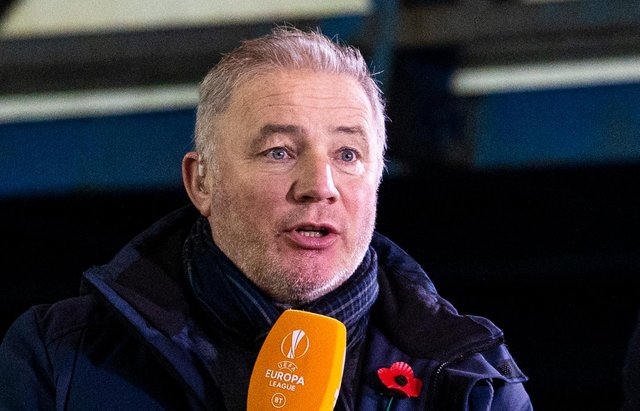 Will Ally McCoist be on commentary duties tomorrow? (Photo by Alan Harvey / SNS Group)