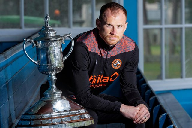 Time is running out for Dundee United skipper Mark Reynolds to create some happier Hampden memories  (Photo by Mark Scates / SNS Group)
