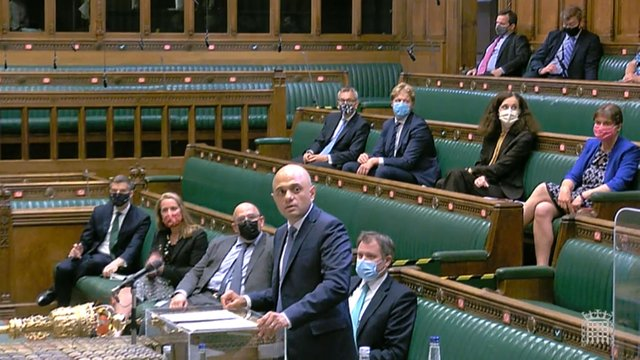 New Health Secretary Sajid Javid insisted the UK Government still believed restrictions in England would end on July 19.