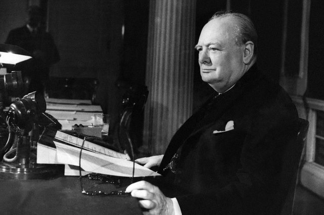 The effect of Winston Churchill's wartime speeches demonstrates the importance of maintaining public morale (Picture: Keystone/Getty Images)