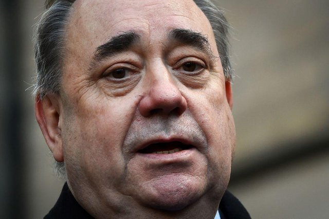"""Alex Salmond has accused the BBC of """"retrying"""" the criminal case against him, after he was challenged over his conduct as a parliamentarian."""