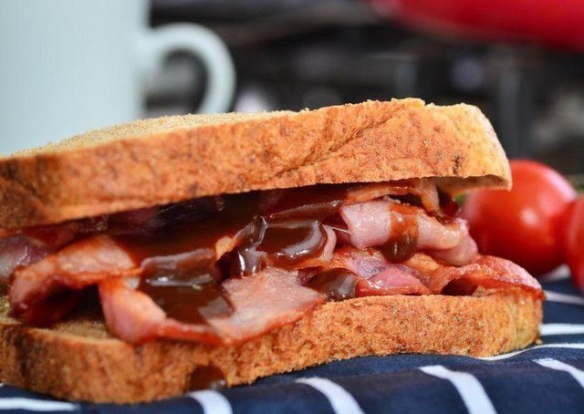 The popularity of products such as bacon rolls soared as diners turned to comfort foods.